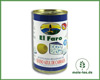 Blue cheese-stuffed olives, El Faro, Tin 150g.