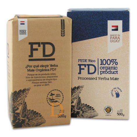 Fede Rico Orgánico - Mate Tee aus Paraguay 500g