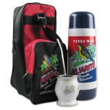 Mate Survival Pack Pajarito (Bag with Thermo + Mate cup stainless steel + Bombilla 21cm)